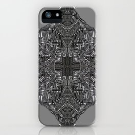 """Tutto sulle mie spalle!"" (0017) iPhone Case"