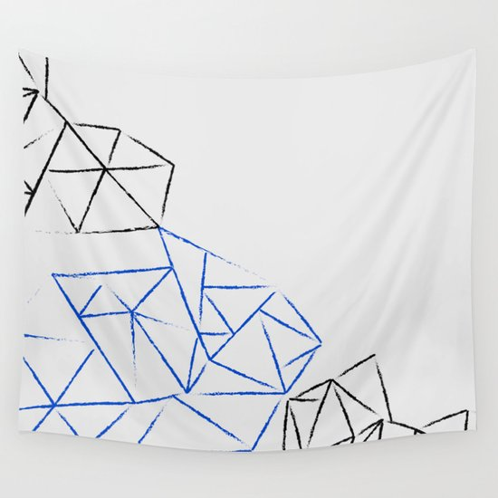 Astoria Grey Wall Tapestry