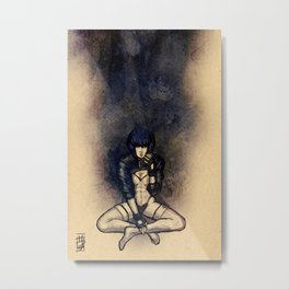 Kusanagi In the Shell Metal Print