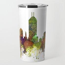 Indianapolis, Indiana Skyline SG - Safari Buff Travel Mug
