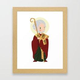 St. Nicholas of Myra Framed Art Print