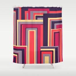 Vintage Sunset Shower Curtain