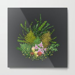 Bog Bouquet Metal Print