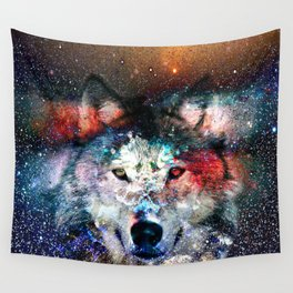 wolf universe Wall Tapestry