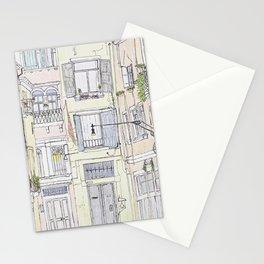 Pen + Ink Italy Street Scene Stationery Cards