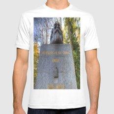 Karl Marx Memorial Mens Fitted Tee White MEDIUM