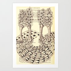 Forest of Fingers Art Print