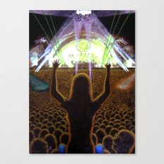 The Concert Canvas Print