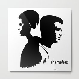 Shameless Ian Gallagher and Mickey Milkovich Metal Print