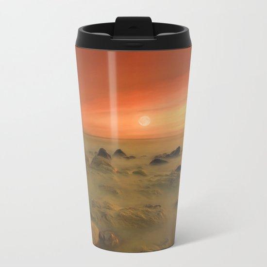 Moon Rocks Metal Travel Mug