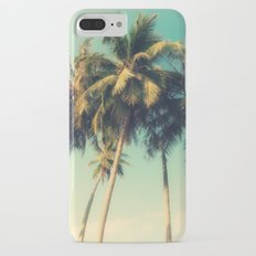 tropical trees in florida Slim Case iPhone 7 Plus