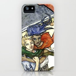 Montreal Fall Wind iPhone Case