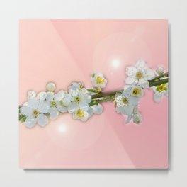 Flower branch - spring is coming #2 Metal Print