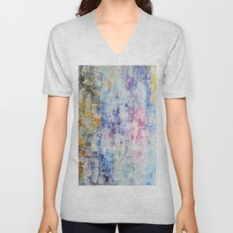 Abstract 158 Unisex V-Neck