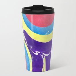 Marbled Color Travel Mug