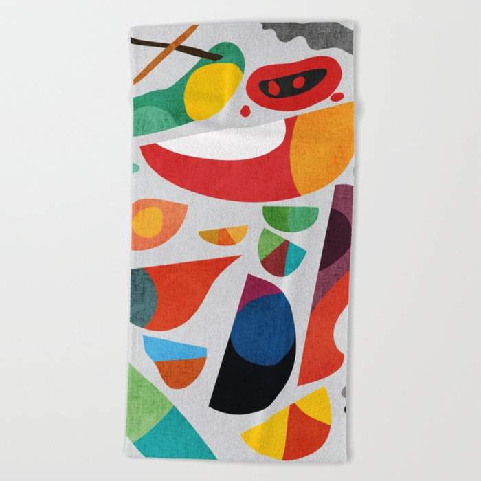 Still life from god's kitchen Beach Towel