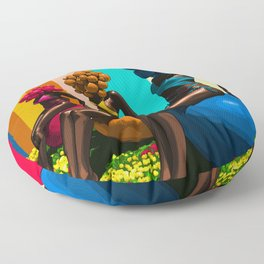BLACK BEAUTY Floor Pillow