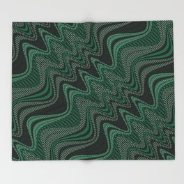 Geometrical Dance Throw Blanket