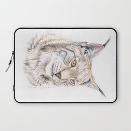 Lynx - Colored Pencil Laptop Sleeve