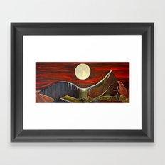 Gaia and Luna Grande Framed Art Print