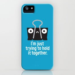 Get a Grip iPhone Case