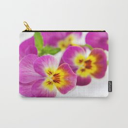 pansy 04 Carry-All Pouch