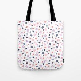 Let it bloom, floral pattern design Tote Bag