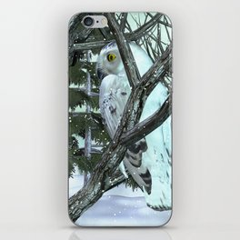 Into The Wild Snowy Owl iPhone Skin