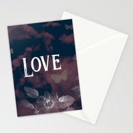Flower Power Love Stationery Cards