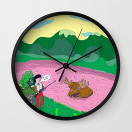 La Niña Wall Clock
