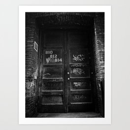 Hidden Away Art Print