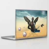 nudes Laptop & iPad Skins featuring dream  by mark ashkenazi