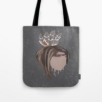 indian Tote Bags featuring INDIAN by Kritika Kripakaran