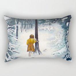 The Lamppost Rectangular Pillow