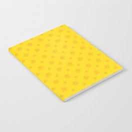 Sun Pattern Notebook