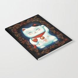 Lucky Cat Notebook