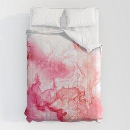 Red fog Comforters