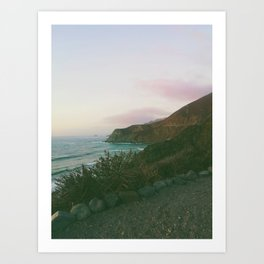 Cabrillo Highway, California Highway 1  Art Print