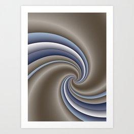 fluid -59- Art Print