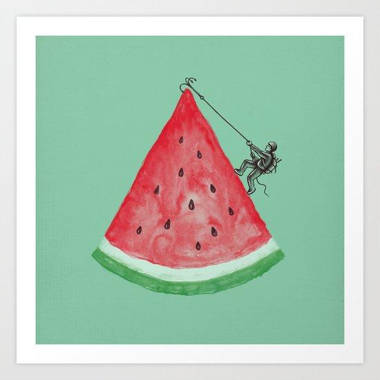Summer Climb Art Print