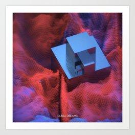 BOXCAT - Cubic Dreams Art Print
