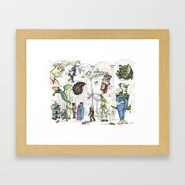 The Neglected Deities Framed Art Print