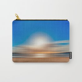 Vibrant Sunset Motion Blur Carry-All Pouch