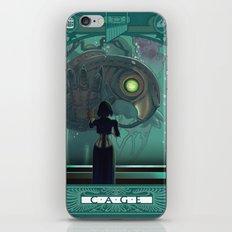 Art Nouveau Bioshock Infinite - Elizabeth and Songbird iPhone & iPod Skin