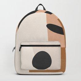 Minimal Abstract Art 11 Backpack