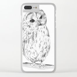 A Cup Of Tea Would Be Delightful Clear iPhone Case