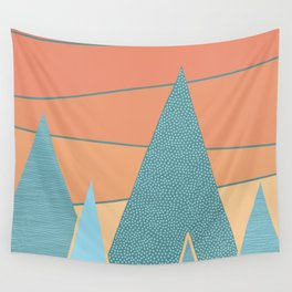 Sunset II Wall Tapestry