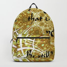 A Psalm of Hope and Faith Backpack