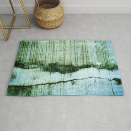 Wall with a river view Rug