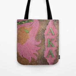 Alpha Kappa Alpha Sister In Profile I Tote Bag